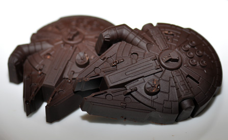 Millennium Falcon in Chocolate