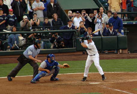 Edgar Martinez final at bat October 3, 2004